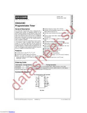 CD4541BCN_NL datasheet скачать даташит