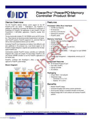 IDTCA91L750-100ILV datasheet скачать даташит