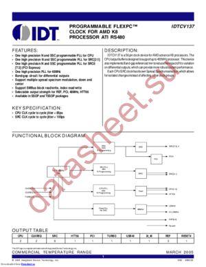 IDTCV149 datasheet скачать даташит