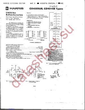 CD4010BH datasheet скачать даташит