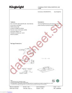 APA2106SRCPRV datasheet скачать даташит
