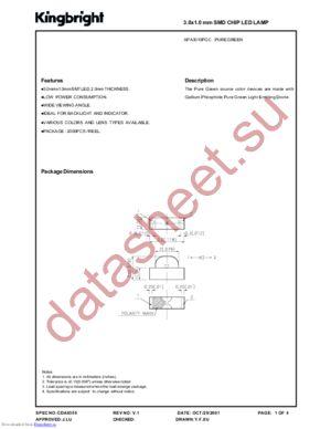 APA3010PGC datasheet скачать даташит