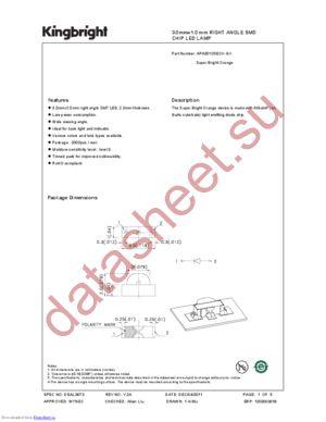 APA3010SECK-GX datasheet скачать даташит