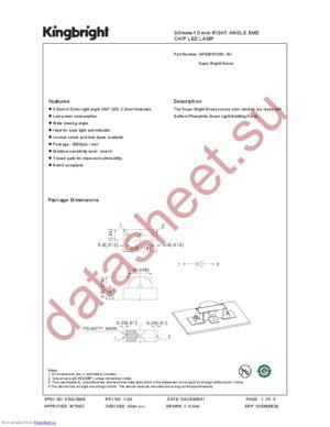APA3010SGC-GX datasheet скачать даташит