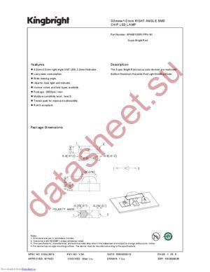 APA3010SRCPRV-GX datasheet скачать даташит