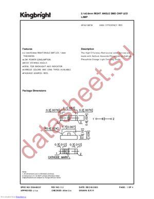 APA2106EW datasheet скачать даташит