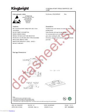 apa2106pbc-z datasheet скачать даташит