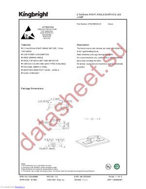 APA2106VGC datasheet скачать даташит