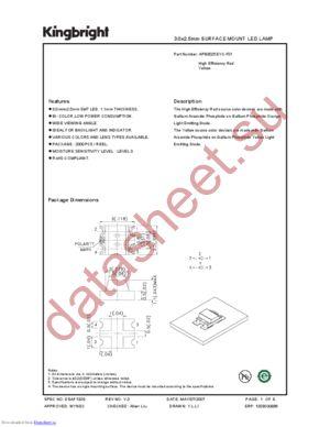 APB3025EYC-F01 datasheet скачать даташит
