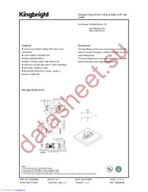 APBA3010ESGC-F01 datasheet скачать даташит