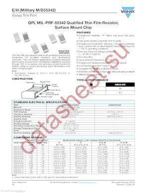 D55342E07B100GRWS datasheet скачать даташит