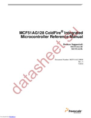 MCF51AG96CLH datasheet скачать даташит