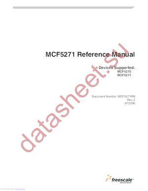 MCF5271CVM150J datasheet скачать даташит
