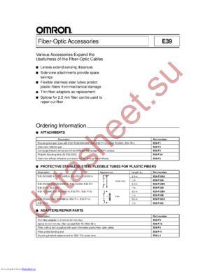 E3X-NVG datasheet скачать даташит