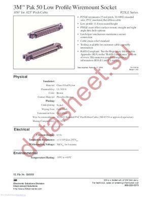 P25LE-050S-DA datasheet скачать даташит