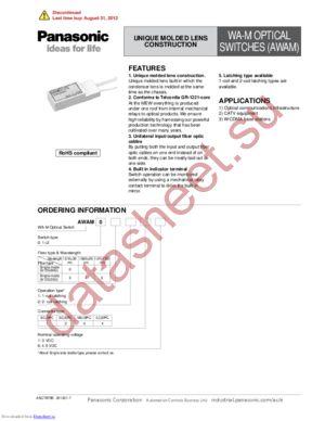 AWAM03136 datasheet скачать даташит