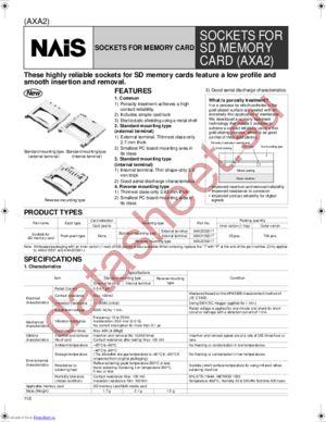 AXA223021P datasheet скачать даташит