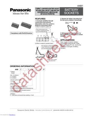AXB761235P datasheet скачать даташит