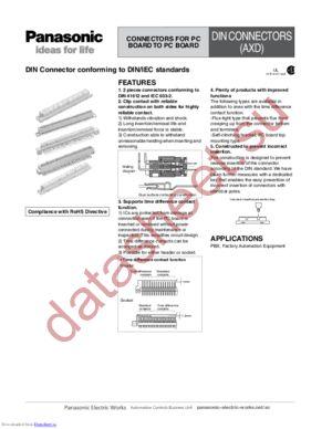 AXD164811 datasheet скачать даташит