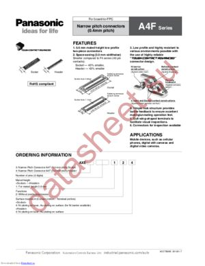 AXE410124 datasheet скачать даташит