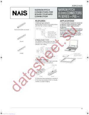 AXK3S40035P datasheet скачать даташит