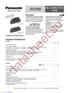 AXM234111 datasheet скачать даташит