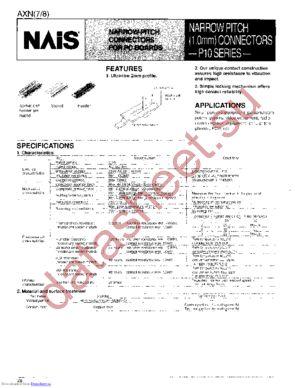 AXN710735P datasheet скачать даташит