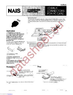 AXR61152 datasheet скачать даташит