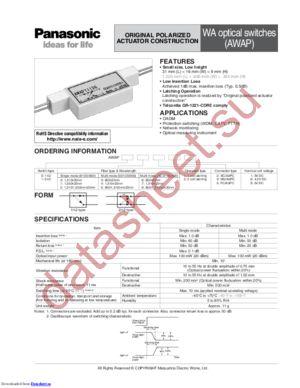 AWAP03251 datasheet скачать даташит