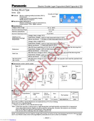 EECEN0F204AK datasheet скачать даташит