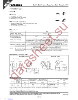 EECRG0V224V datasheet скачать даташит