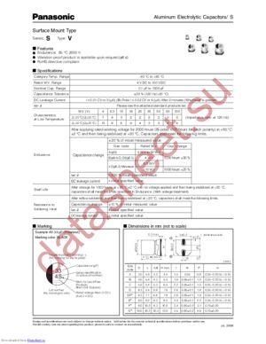 EEE-2AA330P datasheet скачать даташит