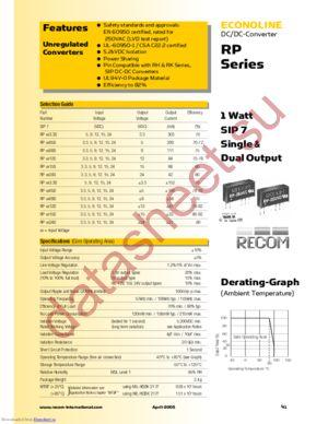 RP-524D datasheet скачать даташит