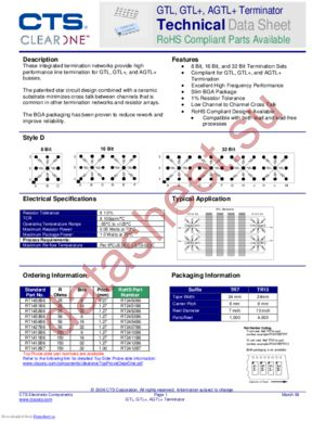 RT1452B6TR7 datasheet скачать даташит