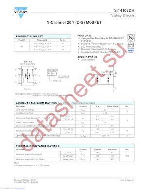 SI9435BDY datasheet скачать даташит