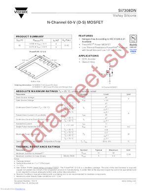 SI9945BDY datasheet скачать даташит