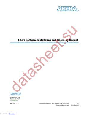SW-QUARTUS-SE-FIX datasheet скачать даташит