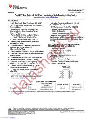 CCB3Q3306AMPWREP datasheet скачать даташит