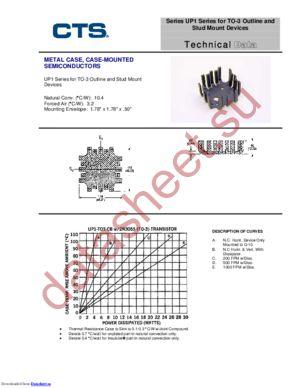 UP1-T03-CB datasheet скачать даташит