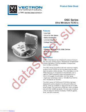 OSC-1A1 datasheet скачать даташит