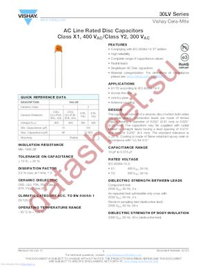 30LVD47JR-R datasheet скачать даташит
