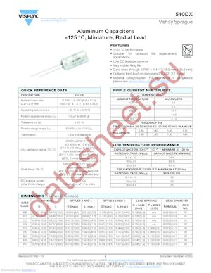 510DX187M040DM5D datasheet скачать даташит
