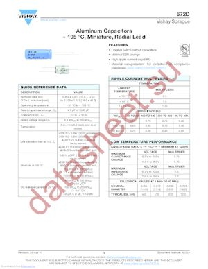 672D1068 datasheet скачать даташит