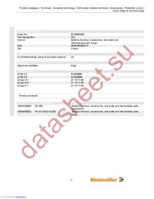 0634100000 datasheet скачать даташит