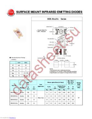 BIR-HO133A datasheet скачать даташит