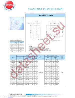 BL-HF532A datasheet скачать даташит
