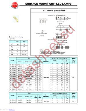 BL-HA134E datasheet скачать даташит