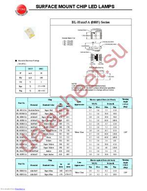 BL-HGE35A datasheet скачать даташит