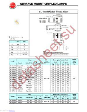 BL-HB536D datasheet скачать даташит