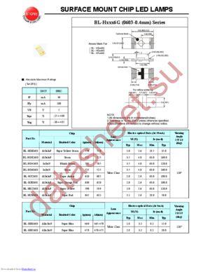 BL-HG636G datasheet скачать даташит